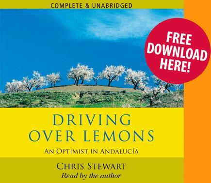 Free Audiobook - Driving Over Lemons by Chris Stewart @ Audio Go