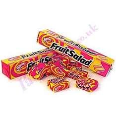 Fruit Salad, Black Jacks & New Starburst Tongue Tangle Sweets Only 10p a Pack @ Home Bargains