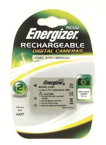 Energizer CA5L Digital Camera Battery - Replaces Canon NB-5L - 3.7V 1120mAh - £3.99 Delivered @ 7 Day Shop