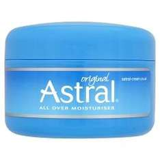 Superdrug: Astral cream 200ml: £1.55 (Plus other discounts)