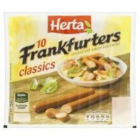 10 Herta Frankfurters £1 @Asda