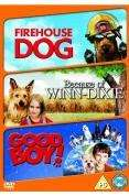 3 Film Box Set: Firehouse Dog / Because of Winn Dixie / Good Boy (DVD) (3 Disc) - £5.99 @ Bee