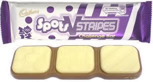 Cadbury spots v stripes bars 17p each @ wh smiths instore