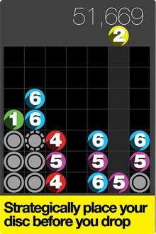 Free Drop7 - Universal App Puzzle Game For iPod Touch / iPhone / iPad (This Weekend Only) @ iTunes
