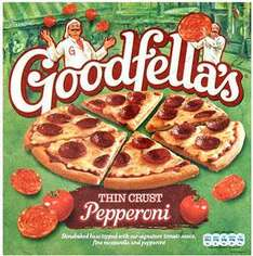 Buy 1 get 2 free Goodfellas thin crust pepperoni pizza £2.79 for 3 @ co-op/somerfields