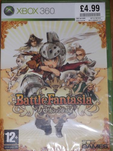 Battle Fantasia (Xbox 360) (PS3) - £4.99 (Instore) @ HMV