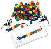 Learning Resources Beads and Pattern Card Set - Was £28.99 Now £10.37 @ Amazon