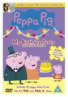 Peppa Pig: My Birthday Party & Other Stories (DVD) - £2.99 @ Amazon