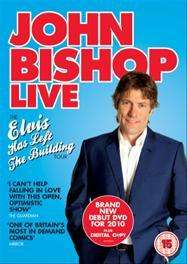 John Bishop Live: Elvis Has Left The Building Tour (DVD) - £4.99 @ Tesco Entertainment