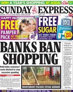 Sunday newspaper offers - see post - Express/ Mirror/ Mail/ Telegraph/ NOTW/ Star