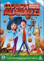 Cloudy With A Chance of Meatballs (DVD) - £2.99 @ Bee
