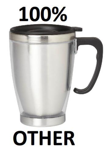 Travel Mug - £1 Delivered @ Burton
