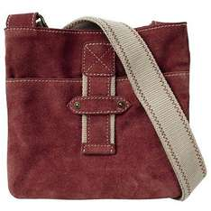 Fat Face Suede Across Body Handbag.  Because it's mothers day £15 @ John Lewis