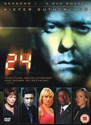 24: Seasons 1-4 Box Set (DVD) - £25 @ Tesco Entertainment