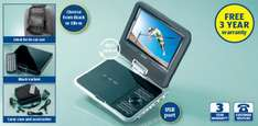 7'' Portable DVD Player from Thursday - £49.99 @ Aldi