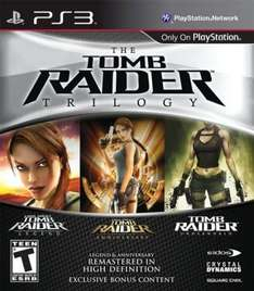Tomb Raider Trilogy For PS3 - £19.99 Instore @ Morrisons