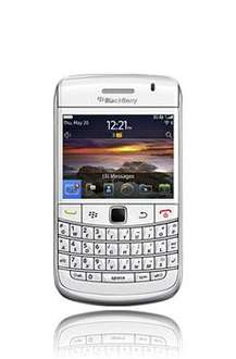 *18 MNTH* Blackberry 9780 White - 100 Mins, 100 Txts, 1GB Data - £19.31 Per Month @ Into Mobile Phones