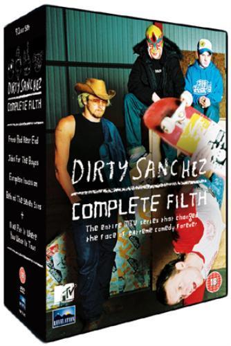 Dirty Sanchez: Complete Filth: Series 1-4 On DVD - £7.85 @ Zavvi