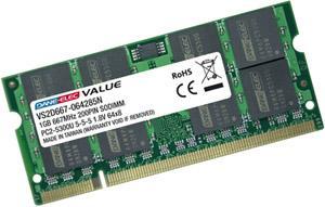 Dane-Elec Value Laptop Memory - SO-DIMM DDR2 800Mhz (PC2-6400) CL6 - 2GB - £18.99 Delivered @ 7 Day Shop