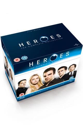 Heroes: Complete Seasons 1-4 (2009) (Blu-ray) (18 Disc) - £49.95 @ Zavvi