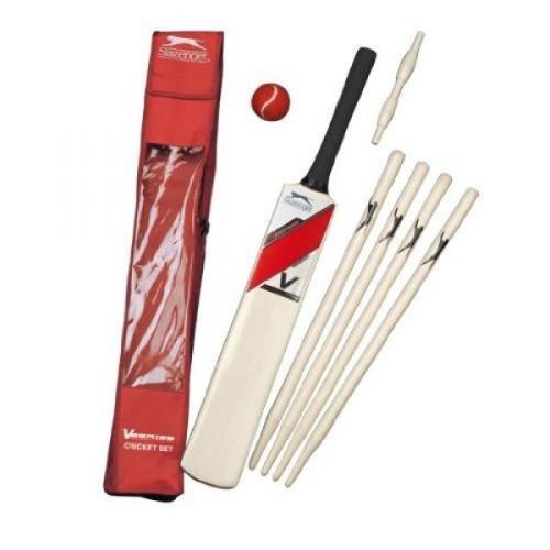 Slazenger VI Cricket Set Size 6 - Red - Was £24.99 Now £7.99 Delivered @ Sport Discount