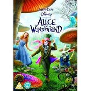Alice In Wonderland (DVD) - £4.99 @ Amazon & Play