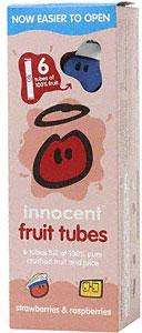 Innocent Pure Fruit Tubes Squeezies eg. Strawberries & Raspberries (6 x 40g) £1 at Morrisons