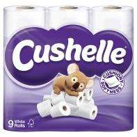 Cushelle White Toliet Roll 9 Pack @ Asda for £3.50 or £3.00 with coupon