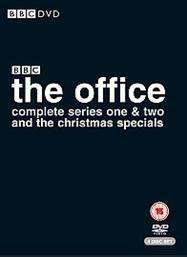 The Office: Complete Series 1-2 (Plus Christmas Specials) (DVD) - £7 @ Tesco Entertainment