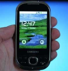 *REFURBISHED* Samsung I5500 Galaxy Europa Android Mobile - £47.90 + £10 Top Up (+ Possible £7.50 Cashback) @ E 2 Save