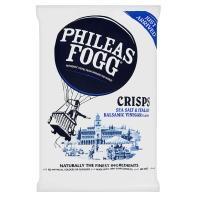 Phileas Fogg Salt and Vinegar Crisps BIG 140g bag 50p down from £1.85 - ASDA