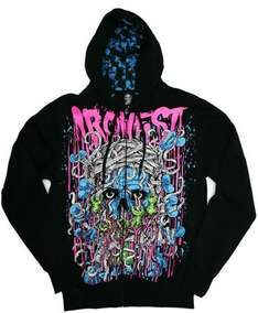 Men's Iron Fist 'Bloody Fist' Hoodie - Black - £14.99 Delivered @ The Hut