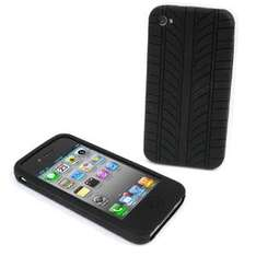 Apple iPhone 4 Silicone Case/Skin (Tyre Pattern) - Black - 69p Delivered @ 7 Day Shop