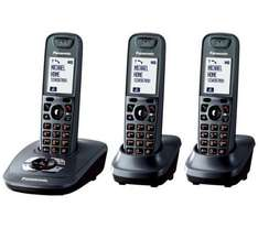 Pansonic KX-TG7523EM Digital Cordless Telephone with Answering Machine - Triple Pack - £44.44 Delivered @ Dixons