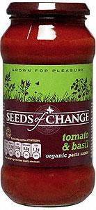 Seeds of Change Organic Pasta Sauce - Tomato & Basil 49p @ B&M's