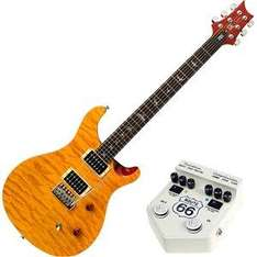 PRS 25th Anniversary SE Custom 24 Vintage Yellow Guitar + Free Route 66 Overdrive Pedal - £599 @ DV247
