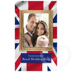 Commemorative Royal Wedding Ring Only £6.99 @ Love Honey