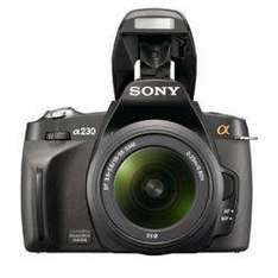 Used 3 months warrenty - Sony A230 10.2 Megapixel Digital SLR  - £215.71 @ Ebay Currys/PC World Outlet