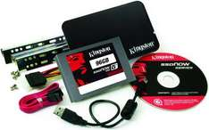 Kingston 96GB V+ 100 SSD (inc Upgrade Kit) - £115 @ Ebuyer