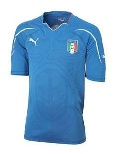Puma Youths Italy 2010 Home Shirt £21 @ Littlewoods