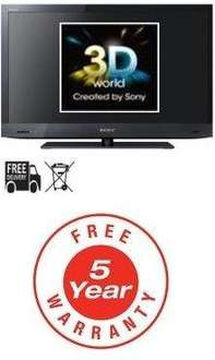 """Sony KDL40EX723 (New Model) - 40"""" 3D LCD TV - with 5 Year Warranty - £796 Delivered @ Cheap Electricals"""