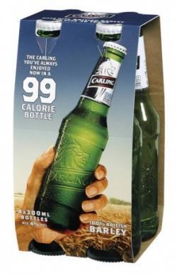 Carling 4 Bottle pack just £1.56 @ Sainsburys