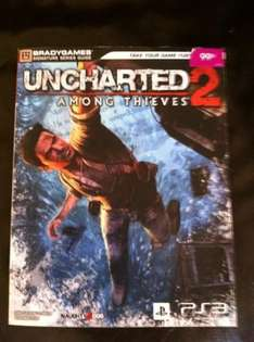 Uncharted 2 Among Thieves Strategy Guide (Brady Games) - 99p @ Game (Instore)