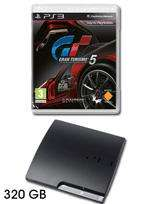 PlayStation 3 Console: 320GB Slim with Gran Turismo 5 - £229.98 @ Game