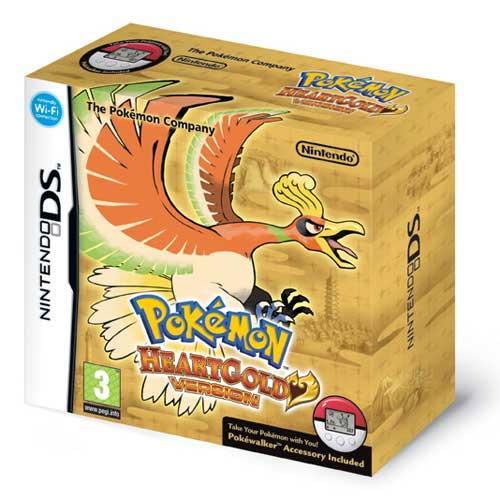Pokemon Heart: Gold Version With Pokéwalker For Nintendo DS/DSi -  £17.86 @ Shopto