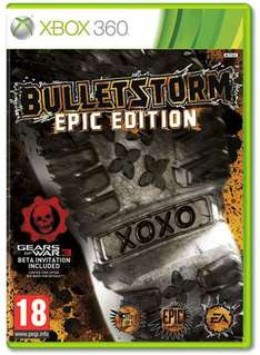 Bulletstorm Epic Edition For Xbox 360 - £22.99 @ Game