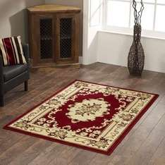Marrakesh Rug Red (Alll Sizes) From £8.48 @ Terrys Fabrics