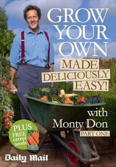 Grow Your Own Vegetable Garden (FREE SEEDS) with the Daily Mail - Starts Saturday