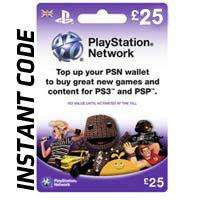 £25 PlayStation Network Card For £20.85 (with code) @ Shopto