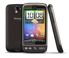 HTC Desire - Brown or White (T-Mobile) - £239.95 Including £10 Top Up @ Phones4U